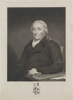 Sir John Kynaston Powell, Bt, by James Stow, after  George Perfect Harding, after  Robert Muller - NPG D40457