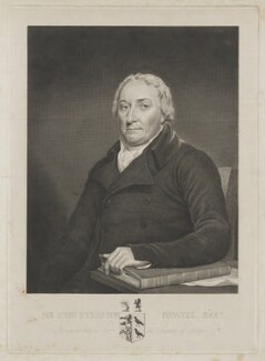 Sir John Kynaston Powell, Bt, by James Stow, after  George Perfect Harding, after  Robert Muller - NPG D40458