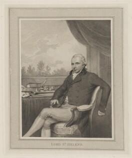 Alleyne Fitzherbert, Baron St Helens, after Henry Edridge, (1801) - NPG D40007 - © National Portrait Gallery, London