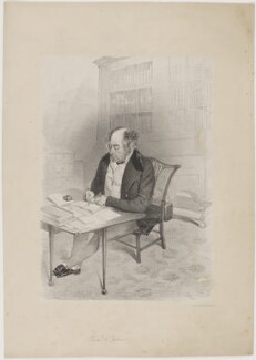 Alleyne Fitzherbert, Baron St Helens, printed by Day & Son, early 19th century - NPG D40008 - © National Portrait Gallery, London