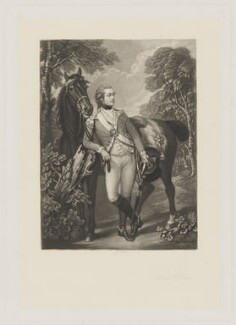 John Hayes St Leger, by John Scott, after  Thomas Gainsborough - NPG D40010
