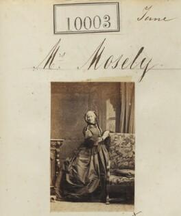 Helen Elizabeth Moseley, by Camille Silvy - NPG Ax59717