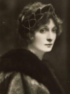 Hazel (née Martyn), Lady Lavery, by E.O. Hoppé - NPG P1393