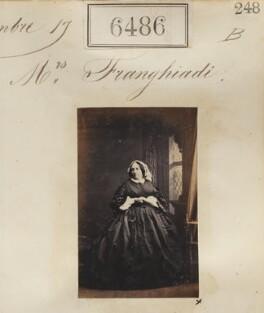 Angeliki Franghiadi (née Drakos), by Camille Silvy - NPG Ax56420