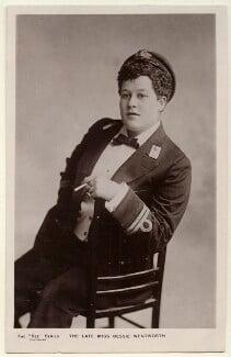 Bessie Wentworth, by Unknown photographer - NPG Ax160094