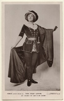 Violet Loraine as Hilario in 'Hop O' My Thumb', by Foulsham & Banfield, published by  Rotary Photographic Co Ltd - NPG Ax160095