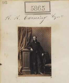 Richard Radcliffe Twining, by Camille Silvy - NPG Ax55819