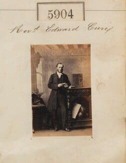 Edward Capel Cure, by Camille Silvy - NPG Ax55859
