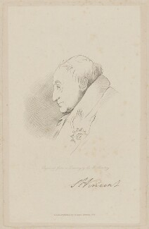 John Jervis, Earl of St Vincent, by John Cook, published by  Richard Bentley, after  Sir Francis Leggatt Chantrey - NPG D40016