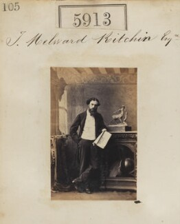 Thomas Milward Kitchin, by Camille Silvy - NPG Ax55868
