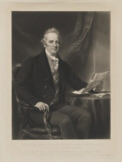 Edward Herbert, 2nd Earl of Powis, by Henry Cousins, published by  Paul and Dominic Colnaghi & Co, after  Sir Francis Grant - NPG D40467