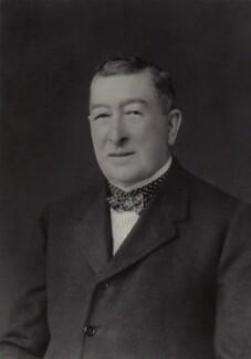 Gilbert Greenall, 1st Baron Daresbury, by Walter Stoneman - NPG x166985
