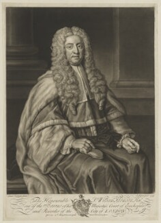 Sir William Thomson, by and published by John Faber Jr, after  Isaac Seeman - NPG D40445