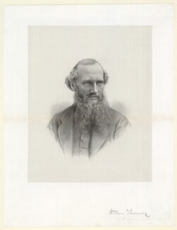 William Thomson, Baron Kelvin, probably after John Fergus, 1870s - NPG D40446 - © National Portrait Gallery, London