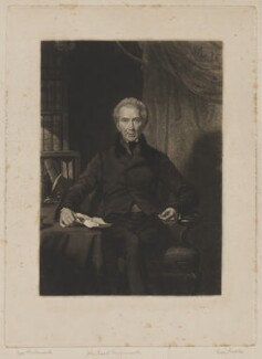 John Shore, 1st Baron Teignmouth, by Thomas Goff Lupton, after  George Richmond - NPG D40450