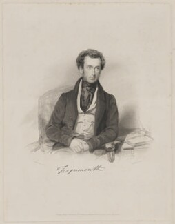 Charles John Shore, 2nd Baron Teignmouth, by and published by William Walker, after  George Richmond - NPG D40447