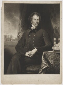 John Shore, 1st Baron Teignmouth, by Henry Edward Dawe, after  Henry Perronet Briggs, circa 1823 - NPG D40449 - © National Portrait Gallery, London
