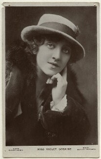 Violet Loraine, by Claude Harris, published by  J. Beagles & Co, 1920s - NPG Ax160127 - © National Portrait Gallery, London
