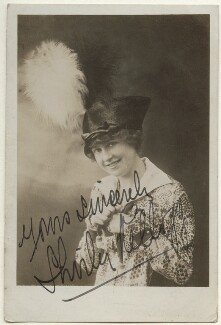 Shirley Kellogg (Mrs Albert de Courville), by Unknown photographer - NPG Ax160133