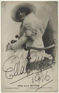 Ella Retford (Elinor Maud Dawe, née Flanagan), published by Frank Dobson of Liverpool - NPG Ax160134