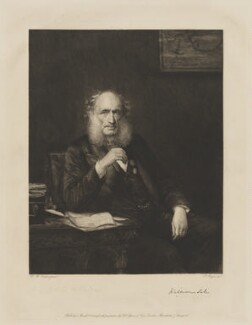 William Sale, by Paul Adolphe Rajon, published by  Thomas Agnew & Sons Ltd, after  Walter William Ouless - NPG D40022