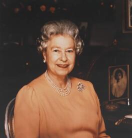 Queen Elizabeth II, by Brian Aris - NPG P1412