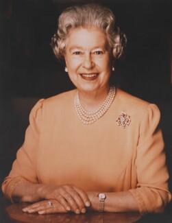 Queen Elizabeth II, by Brian Aris - NPG P1413