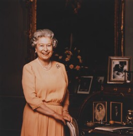 Queen Elizabeth II, by Brian Aris - NPG P1414