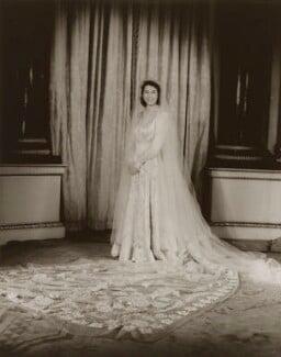 Queen Elizabeth II, by Baron Studios - NPG P1415