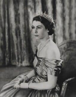 Queen Elizabeth II, by Baron Studios - NPG P1417