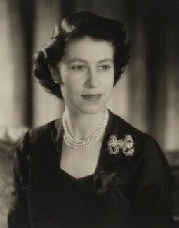 Queen Elizabeth II, by Baron Studios - NPG P1426