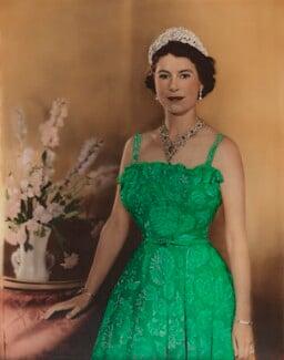 Queen Elizabeth II, by Baron Studios - NPG P1428