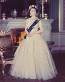 Queen Elizabeth II, by Baron Studios - NPG P1430