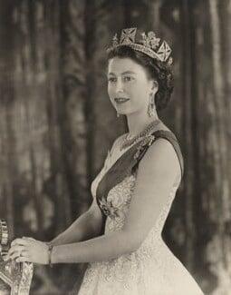 Queen Elizabeth II, by Baron Studios - NPG P1433