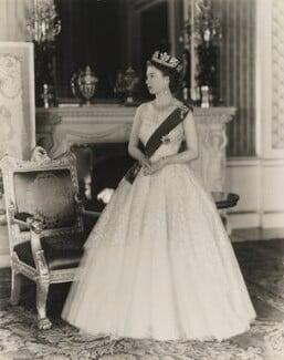 Queen Elizabeth II, by Baron Studios - NPG P1436