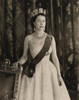 Queen Elizabeth II, by Baron Studios - NPG P1438