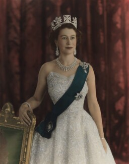Queen Elizabeth II, by Baron Studios - NPG P1439