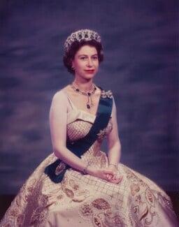 Queen Elizabeth II, by Baron Studios - NPG P1446