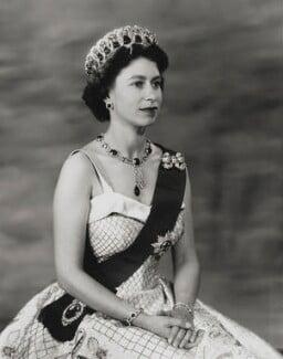 Queen Elizabeth II, by Baron Studios - NPG P1447
