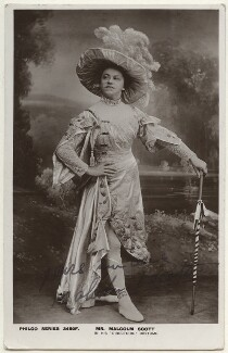 Malcolm Scott in his 'Directoire' costume, published by The Philco Publishing Co - NPG Ax160153