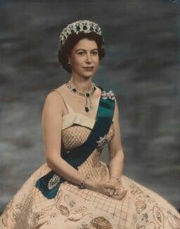 Queen Elizabeth II, by Baron Studios - NPG P1448