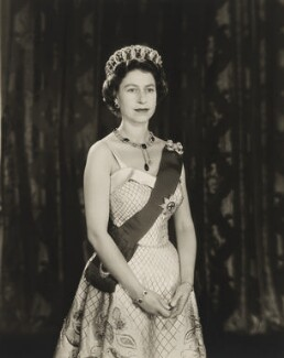 Queen Elizabeth II, by Baron Studios - NPG P1449