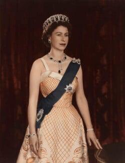 Queen Elizabeth II, by Baron Studios - NPG P1451