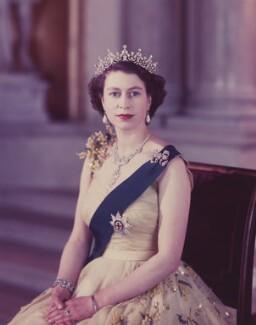 Queen Elizabeth II, by Baron Studios - NPG P1440