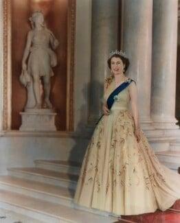 Queen Elizabeth II, by Baron Studios - NPG P1442