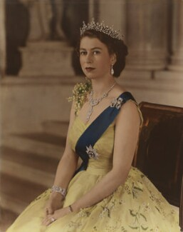 Queen Elizabeth II, by Baron Studios - NPG P1444