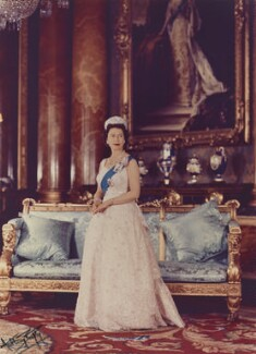Queen Elizabeth II, by Anthony Buckley - NPG P1496