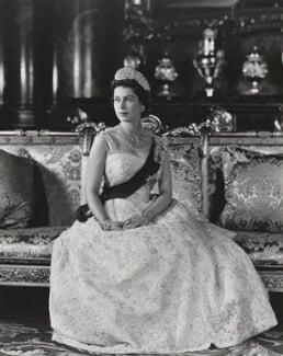 Queen Elizabeth II, by Anthony Buckley - NPG P1497