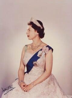 Queen Elizabeth II, by Anthony Buckley - NPG P1501