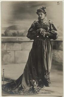 Marthe Brandès (Marthe-Joséphine Brunschwig), by Léopold Emile Reutlinger - NPG Ax160162